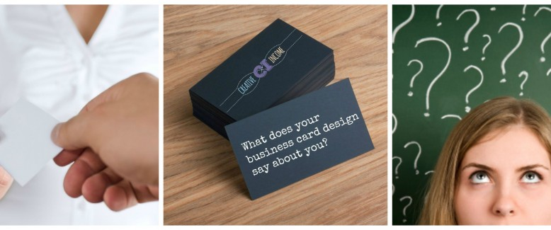 What Does Your Business Card Design Say About You?